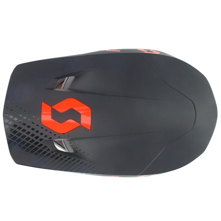 Scott Helmet 550 Hatch Blk/Orange - 1