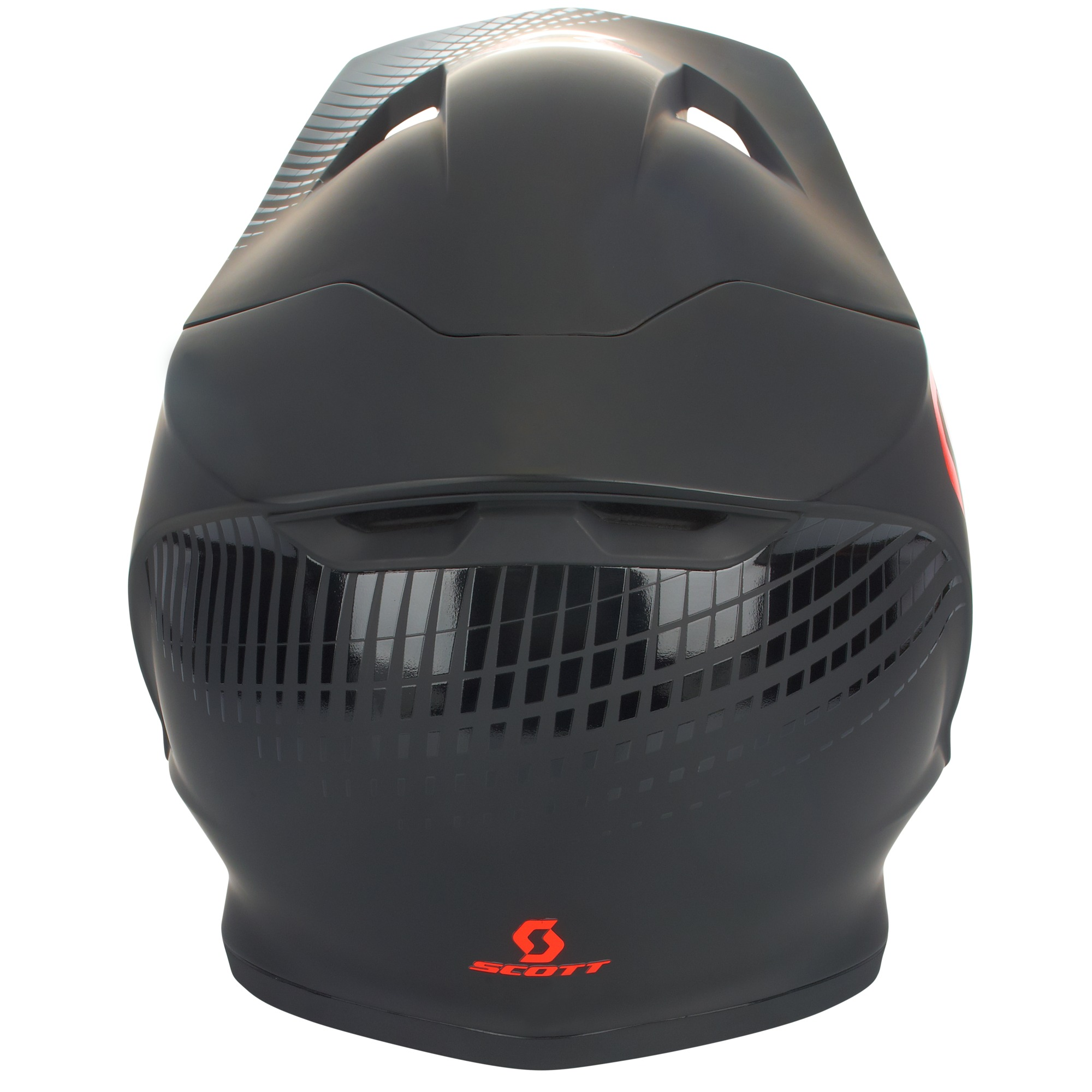 Scott Helmet 550 Hatch Blk/Orange - 2