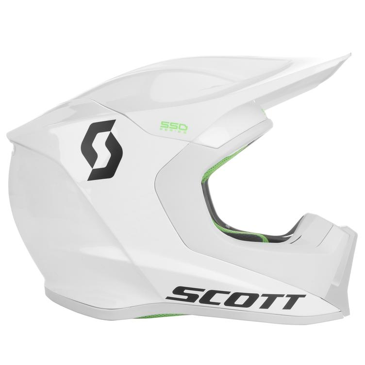 Scott Helmet 550 Hatch White - 1