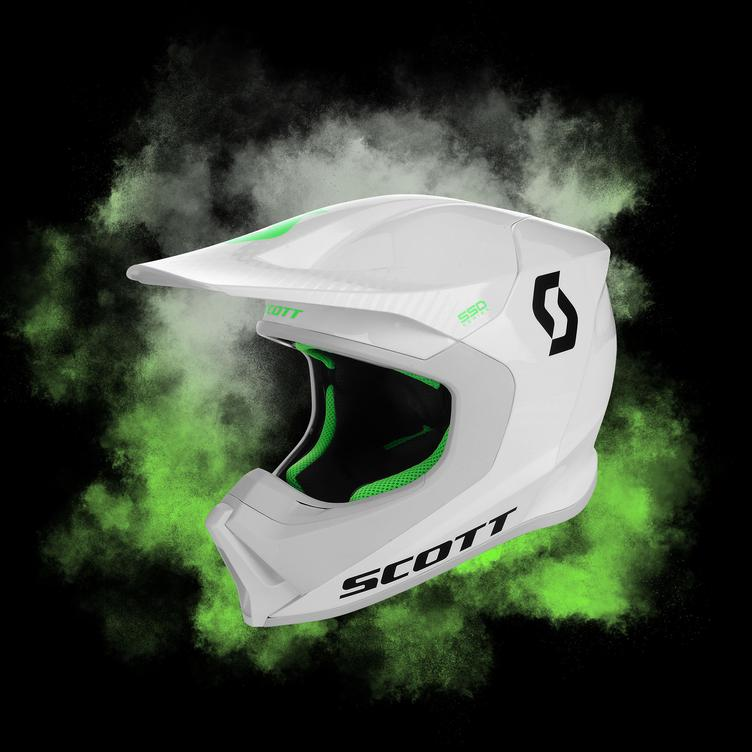 Scott Helmet 550 Hatch White