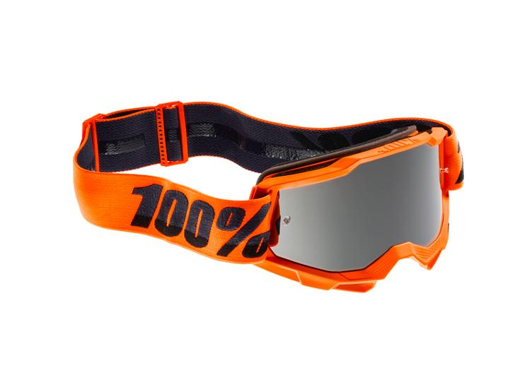 100% Accuri 2 Goggle Orange - Mirror Silver