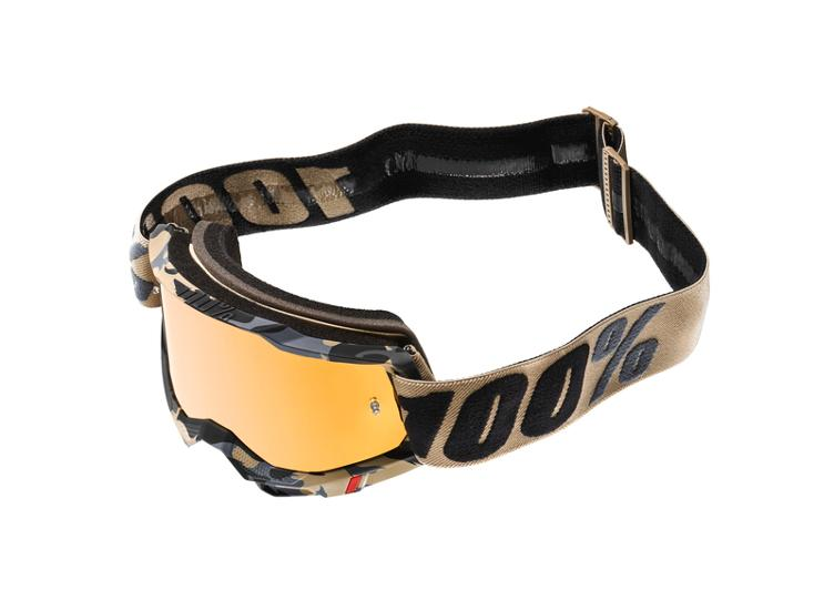 100% Accuri 2 Goggle Tarmac - True Gold