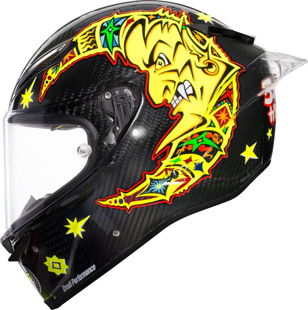 AGV Pista GP R Rossi 20 Years Carbon Limited Edition Helm - 2