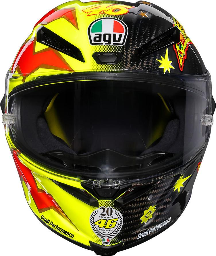 AGV Pista GP R Rossi 20 Years Carbon Limited Edition Helm - 1