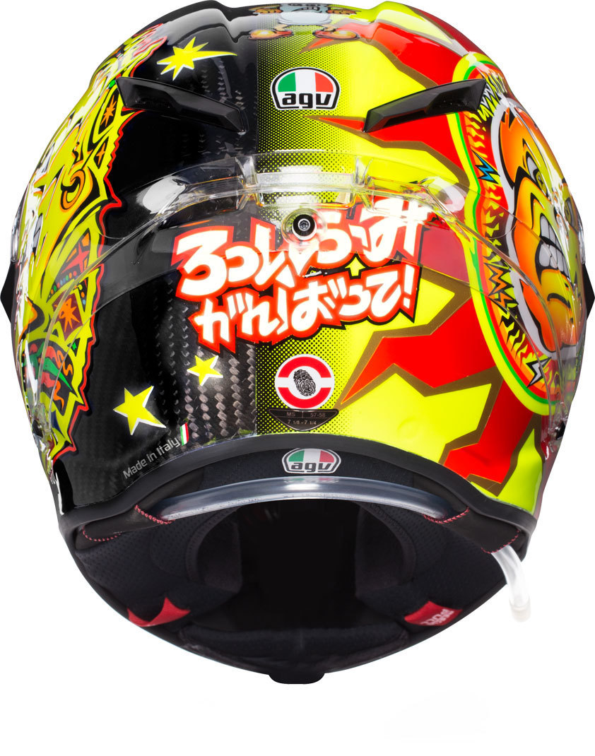 AGV Pista GP R Rossi 20 Years Carbon Limited Edition Helm - 3