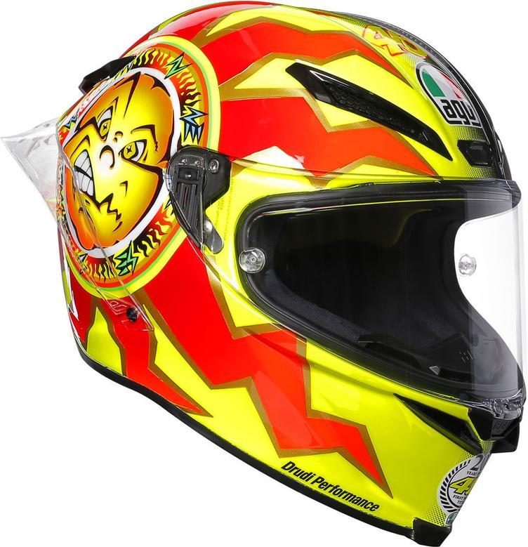 AGV Pista GP R Rossi 20 Years Carbon Limited Edition Helm - 0