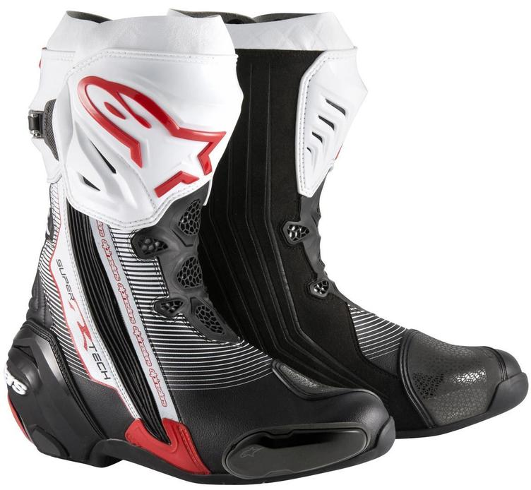 Alpinestars Super Tech R (Blck/whit/red.)