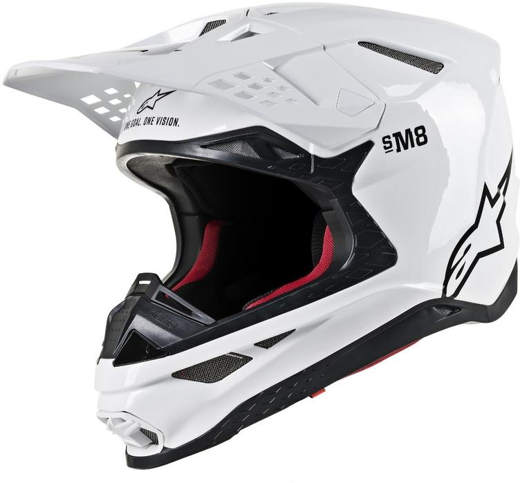 Alpinestars Supertech S-M8 Solid Motocross Helm