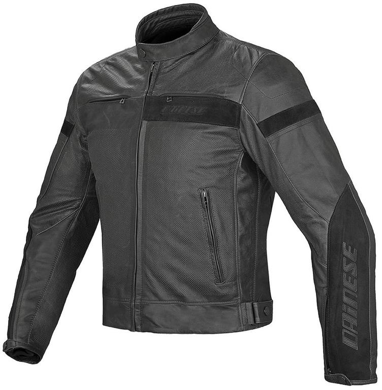 Dainese Leather Jacket Stripes Evo c2