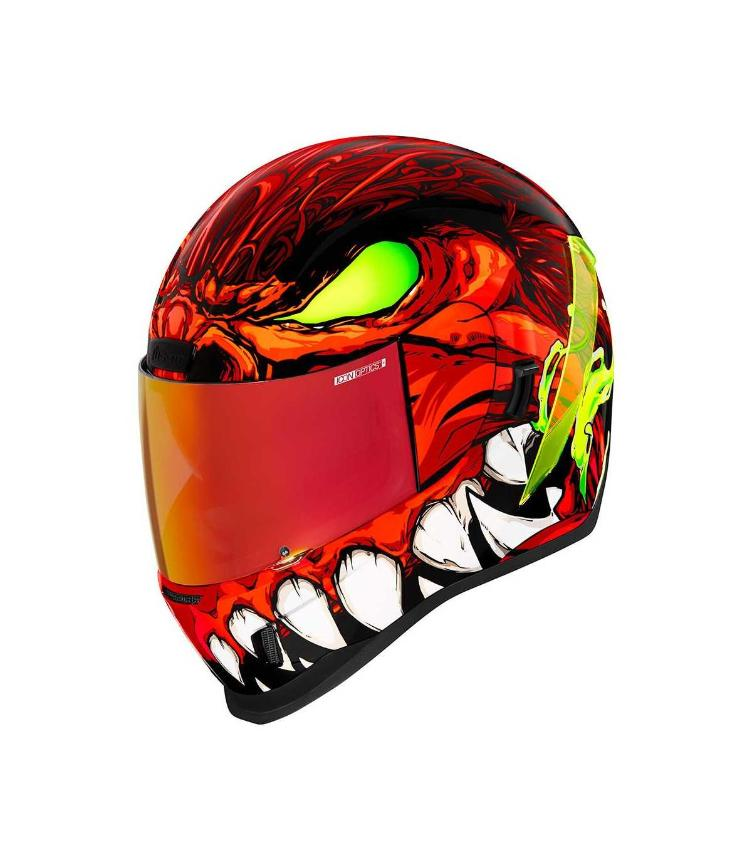 ICON AIRFORM MANIK`R RED HELMET