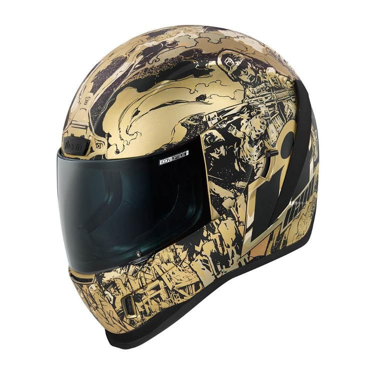ICON Icon Helm Airform Guardian, gold,