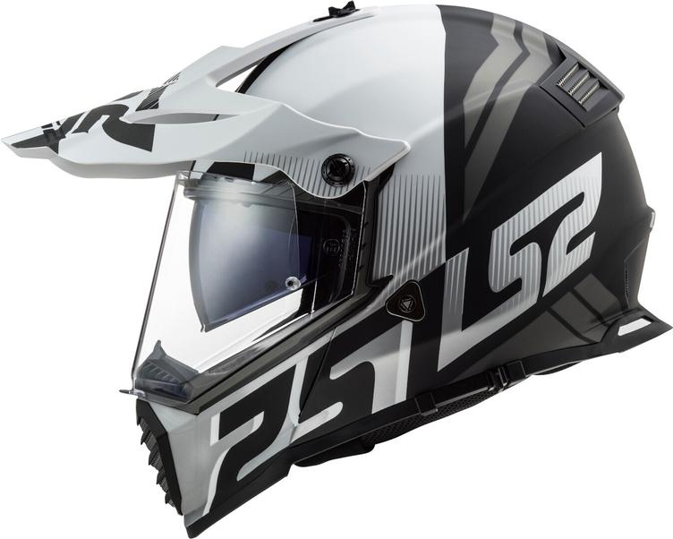 LS2 MX436 Pioneer Evo EVOLVE White Matt Helm