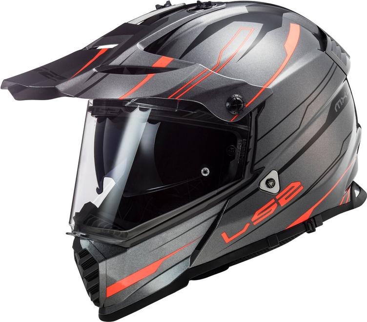 LS2 MX436 Pioneer Evo Knight Helm