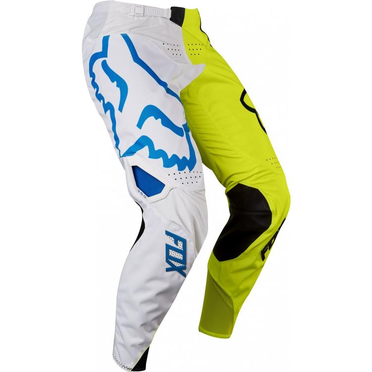 PANT FOX 360 CREO WHITE/YELLOW