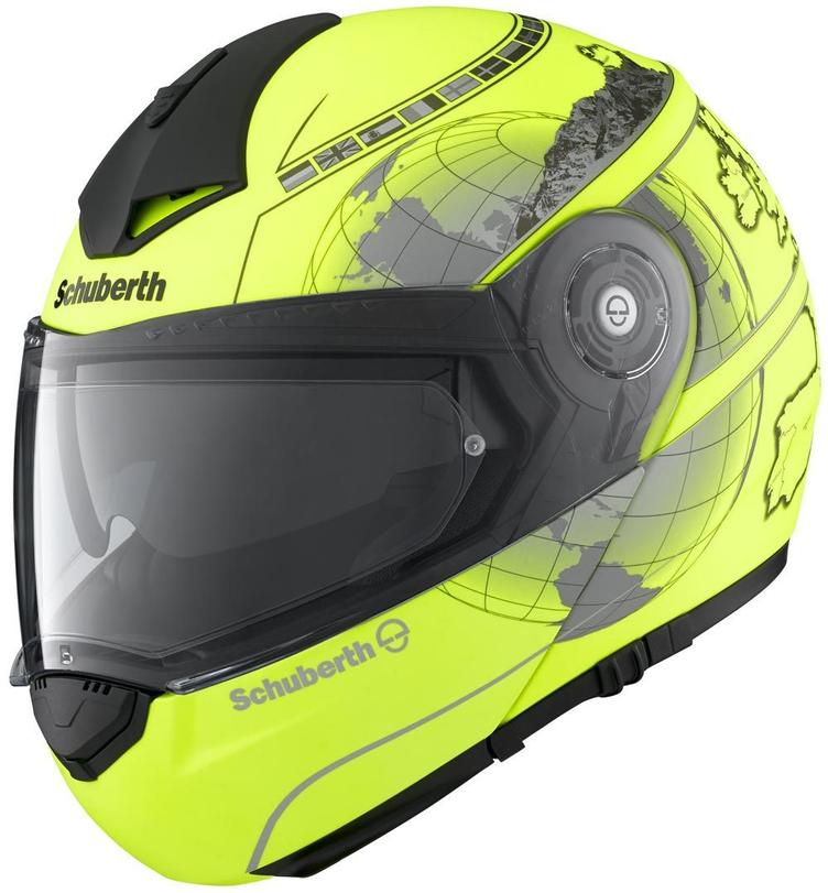SCHUBERTH C3 PRO YELLOW EUROPE