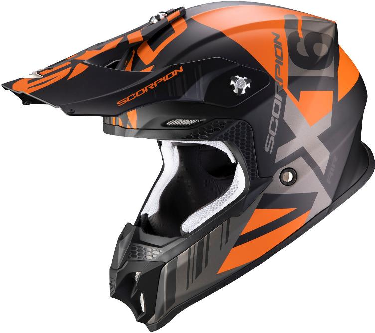 Scorpion VX-16 Air MACH Motocross Helm