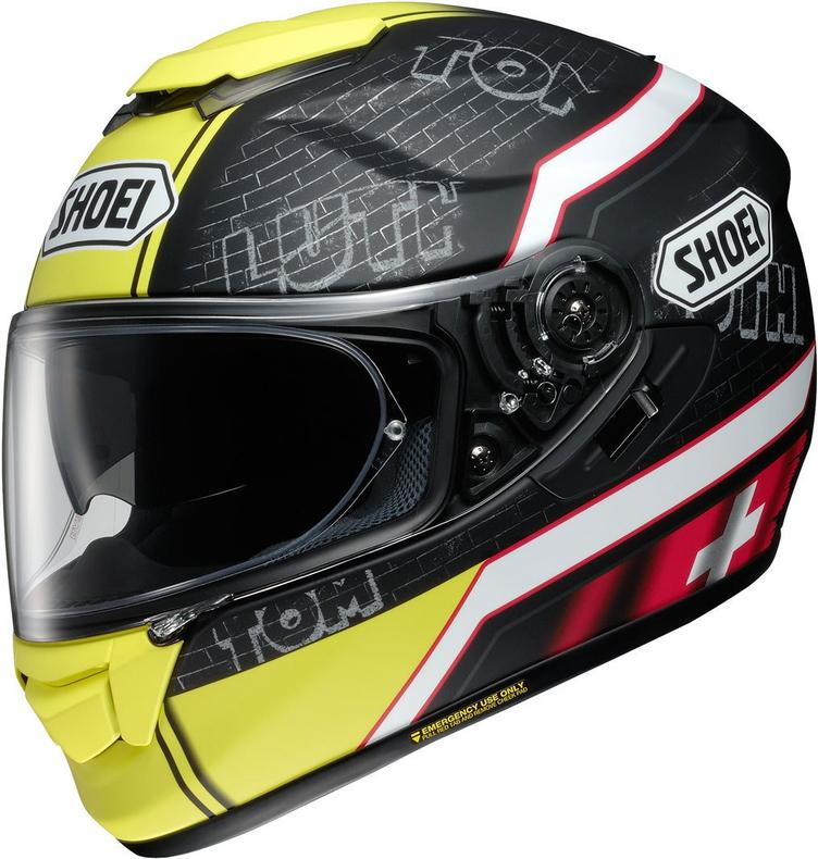 SHOEI GT-AIR LÜTHI TC-3