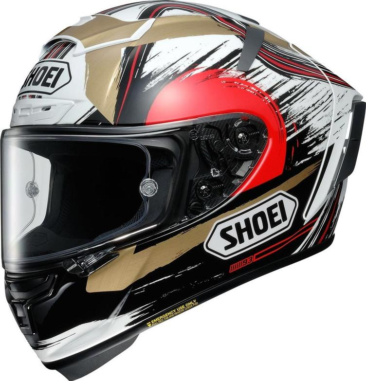 Shoei X-Spirit III Marquez Motegi 2 TC-1 Helm