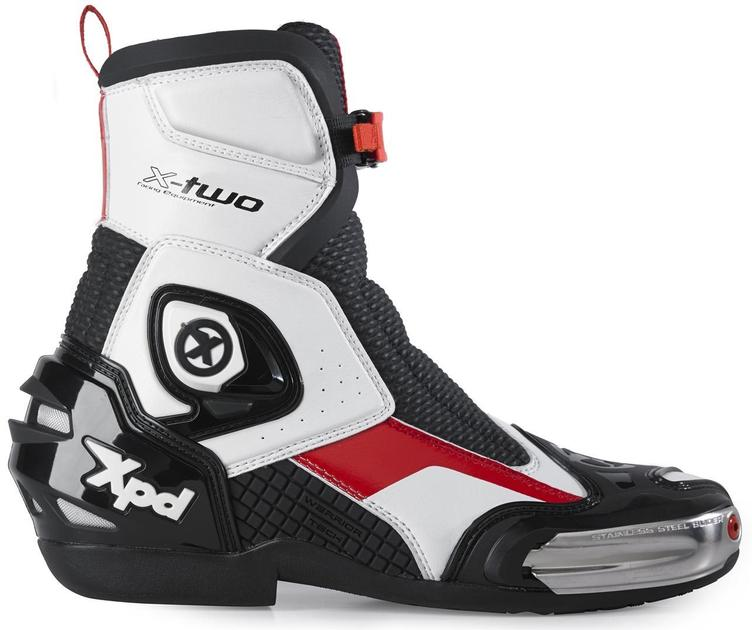 XPD X-Two Motorcycle Boots Weiss